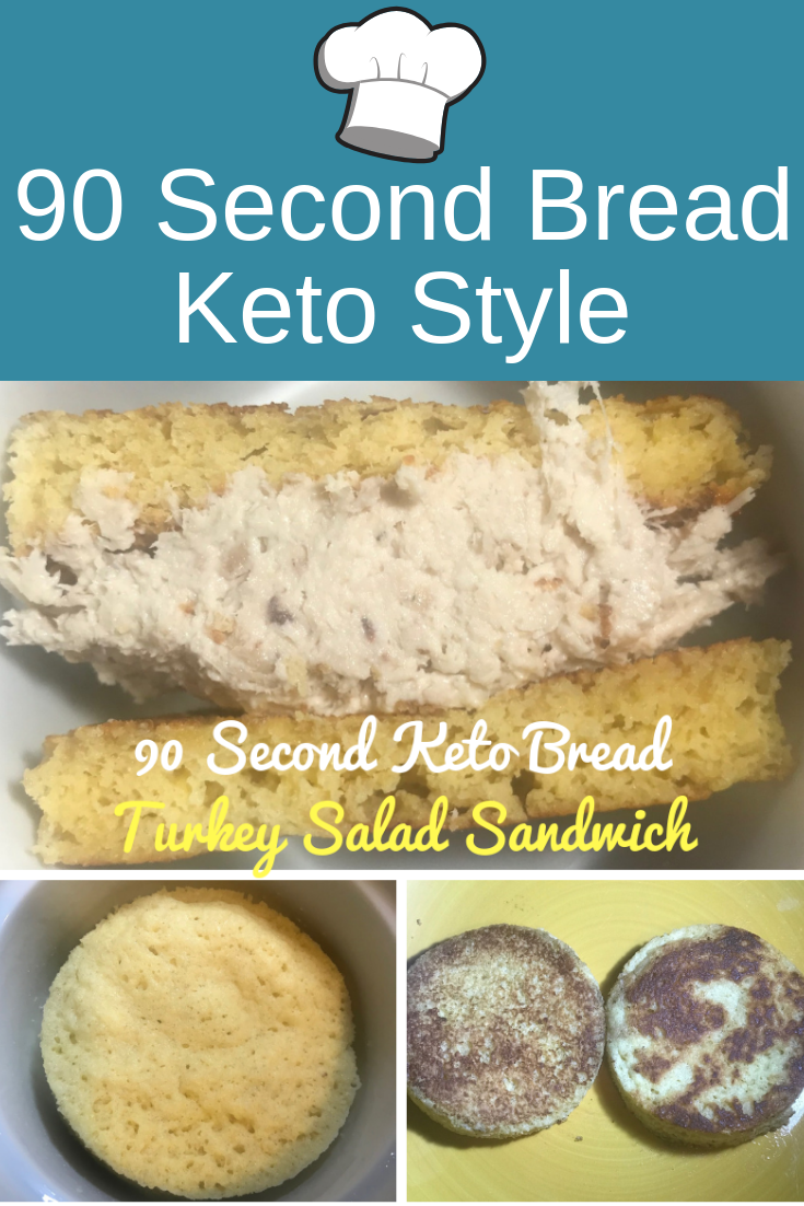 90 Second Bread Keto Style - Everything Keto Diet