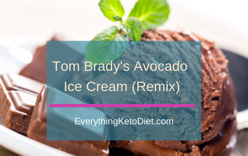 tom brady avocado ice cream