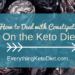 how to deal with constipation on the keto diet