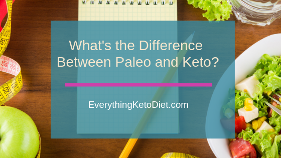 what's the difference between paleo and keto